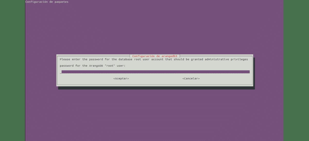 configuración password root