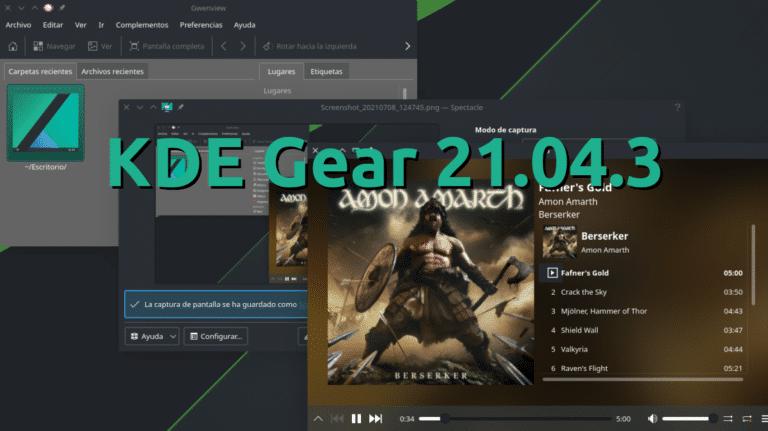 KDE Gear 21.04.3