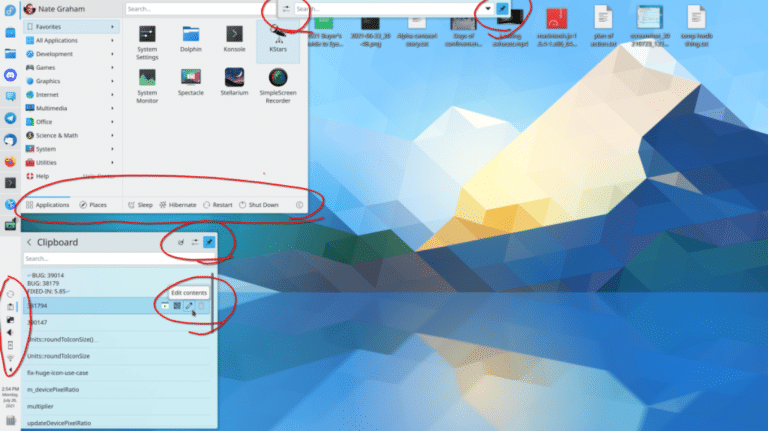Mejoras en el alto DPI en KDE Plasma