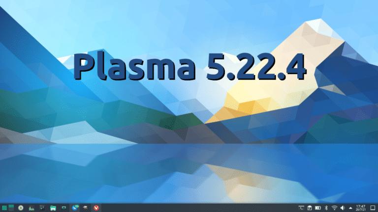 Plasma 5.22.4