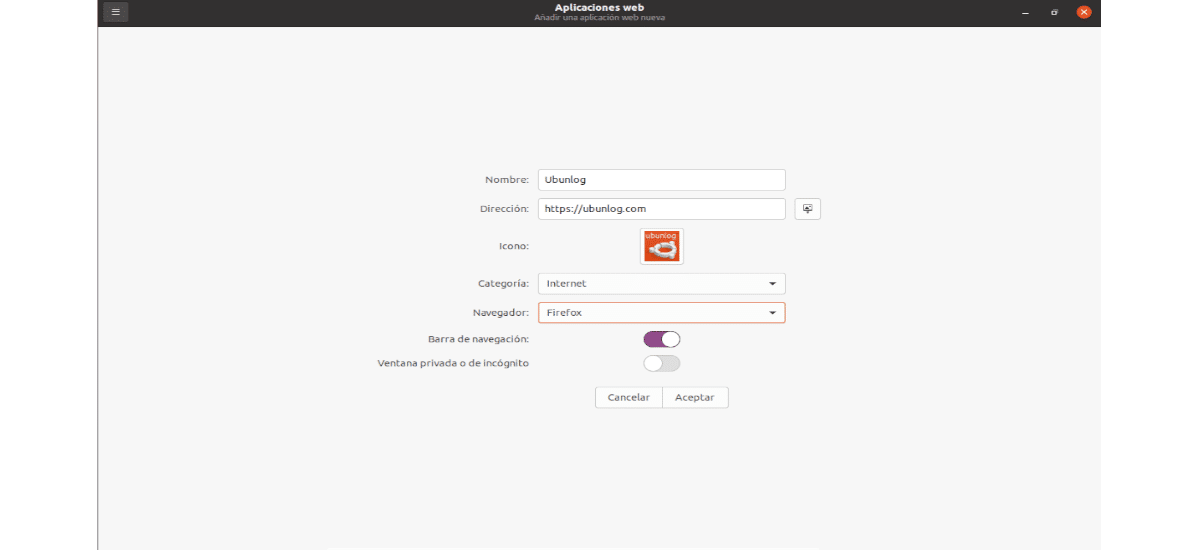 crear webapp manager