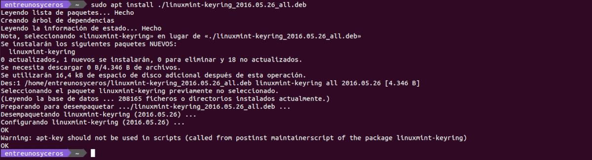 instalar clave webapp manager