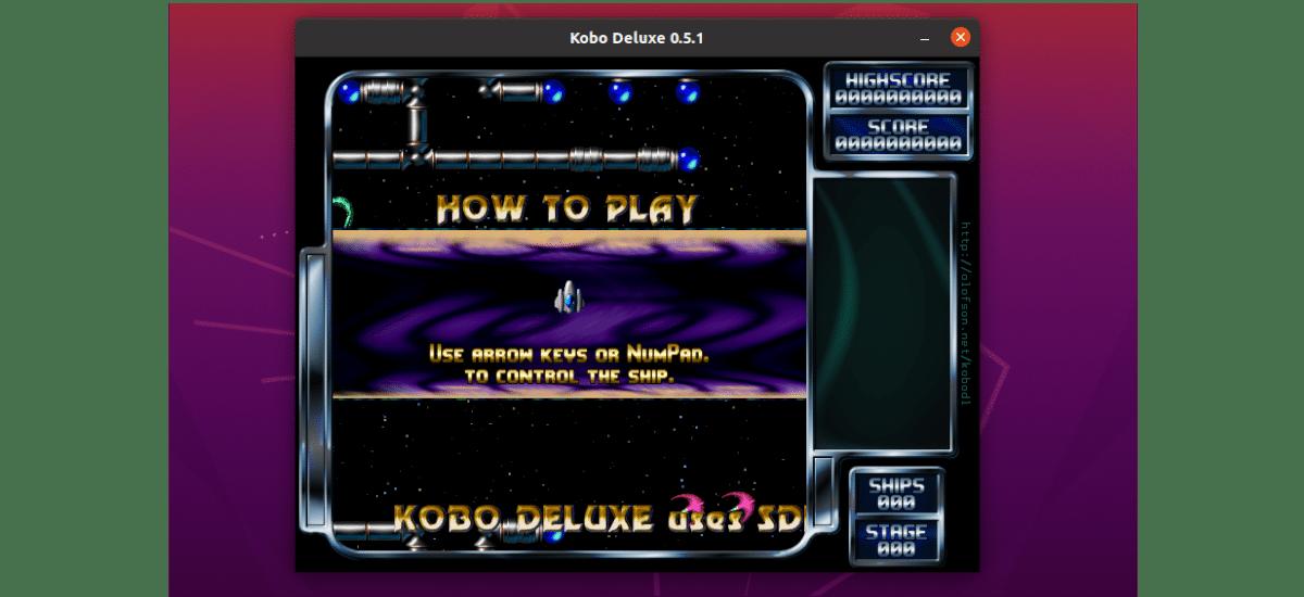 pantalla de inicio kobo deluxe