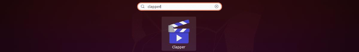 lanzador de clapper