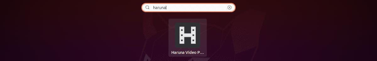 lanzador de Haruna