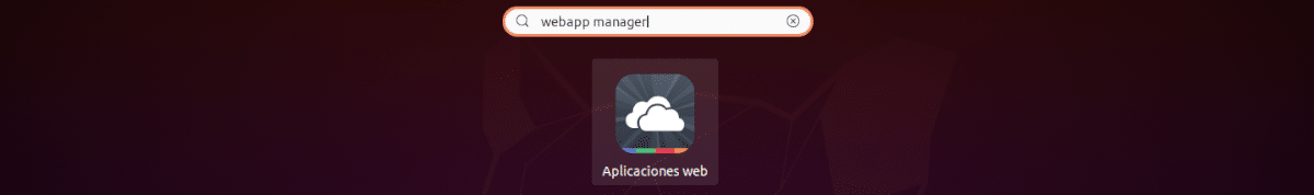 lanzador webapp manager