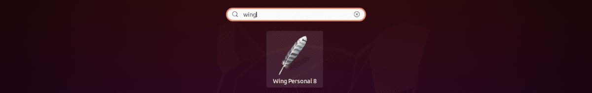 lanzador de Wing 8