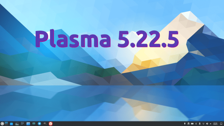 Plasma 5.22.5