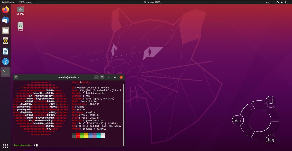 Ubuntu 20.04 con Linux 5.4