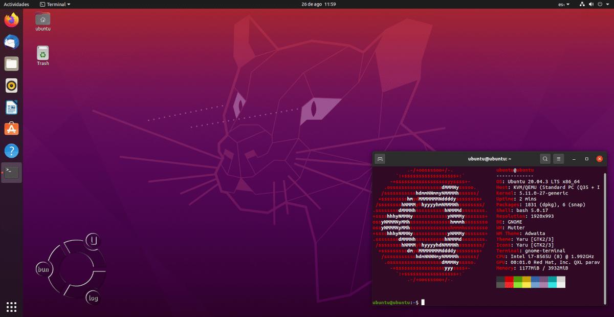Ubuntu 20.04.3