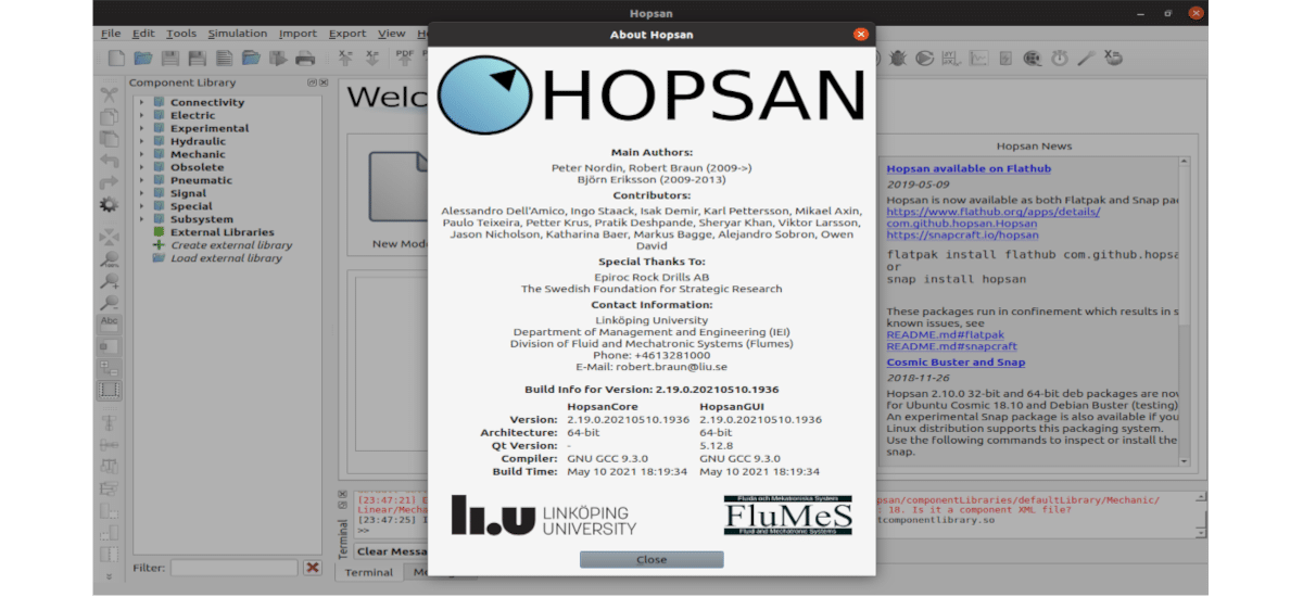 about hopsan