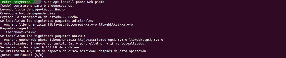 instalar gnome-web-photo
