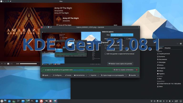KDE Gear 21.08.1