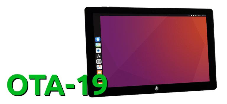 OTA-19 de Ubuntu Touch