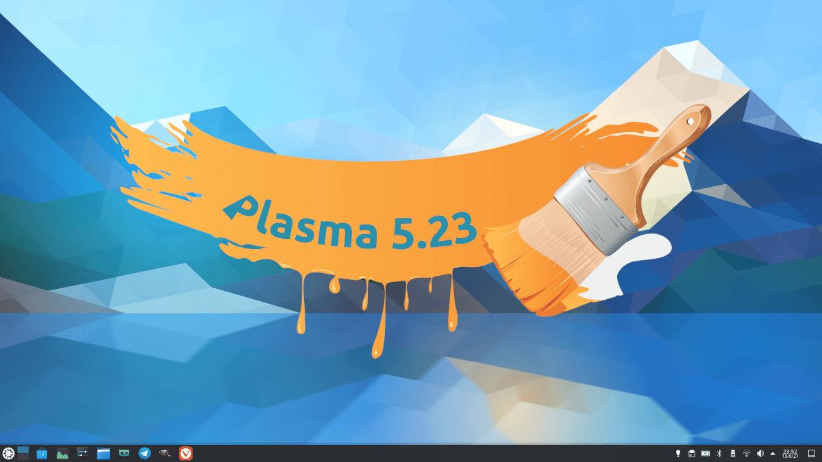 Retoques en KDE Plasma 5.23