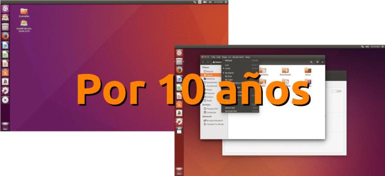 Ubuntu 16.04 y 14.04 soportados diez años