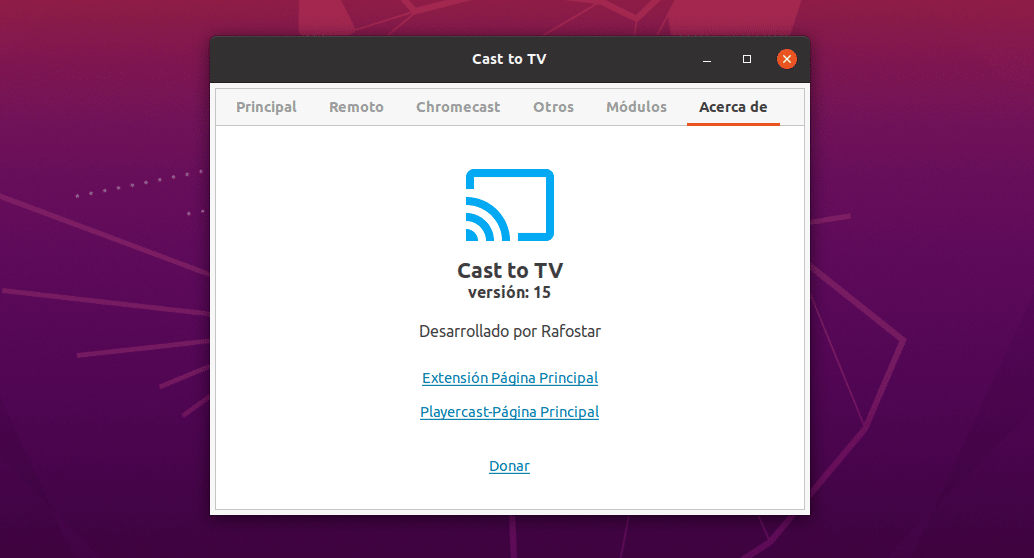 about cast to tv