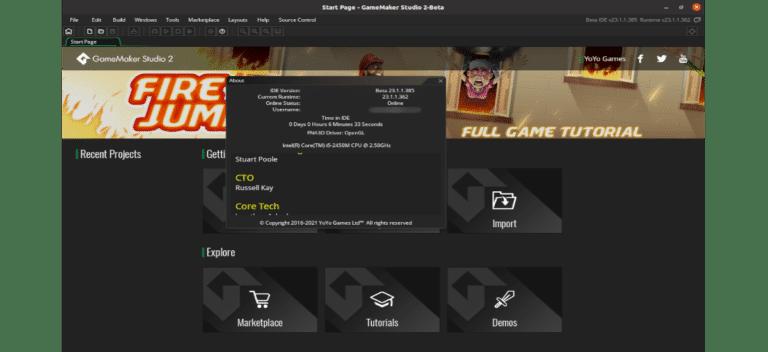 about gamemaker studio 2