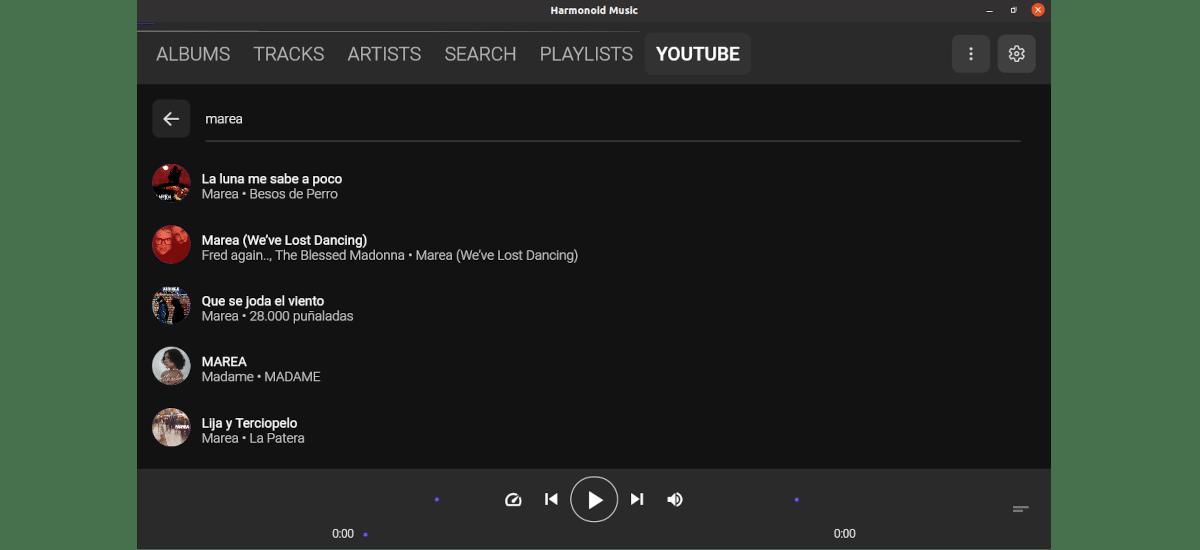 buscador youtube harmonoid