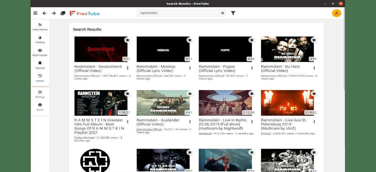 buscar vídeos