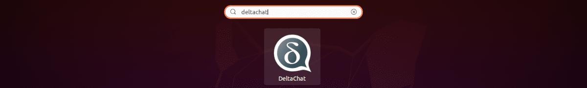 lanzador delta chat