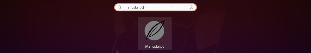 lanzador manuskript