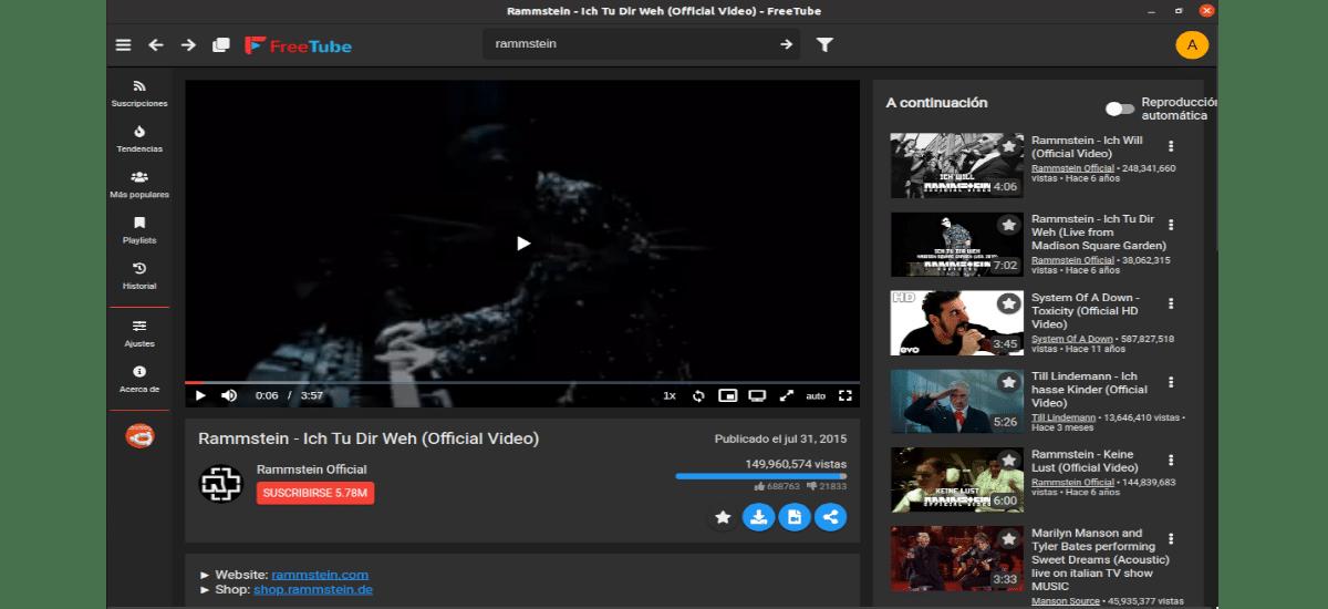 reproducir vídeos