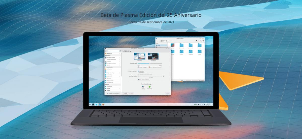 Beta de KDE Plasma 5.23