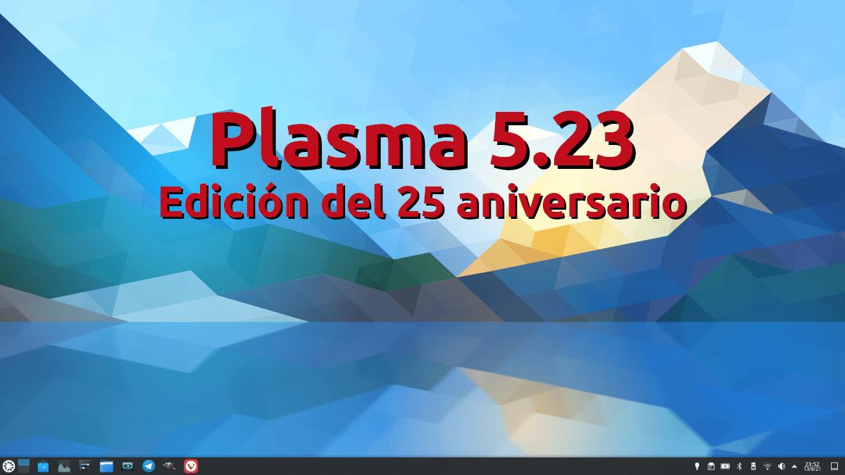 KDE Plasma 5.23, edicion del 25 aniversario