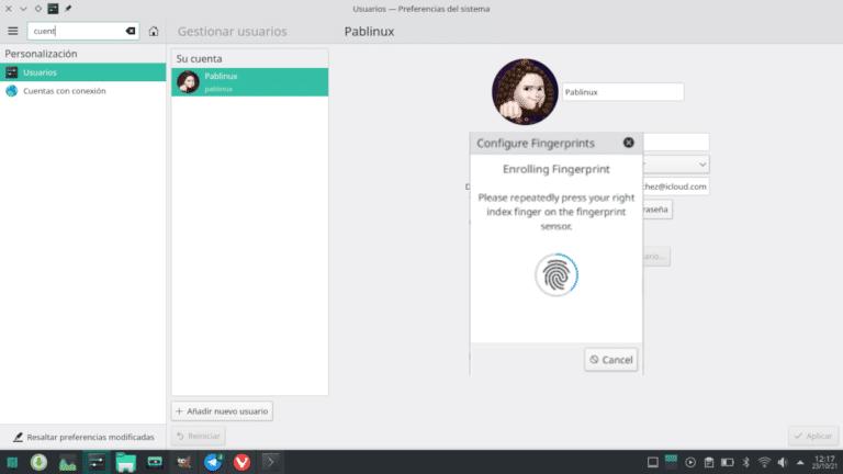 KDE Plasma se prepara para leer huellas dactilares