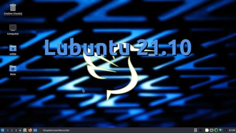 Lubuntu 21.10