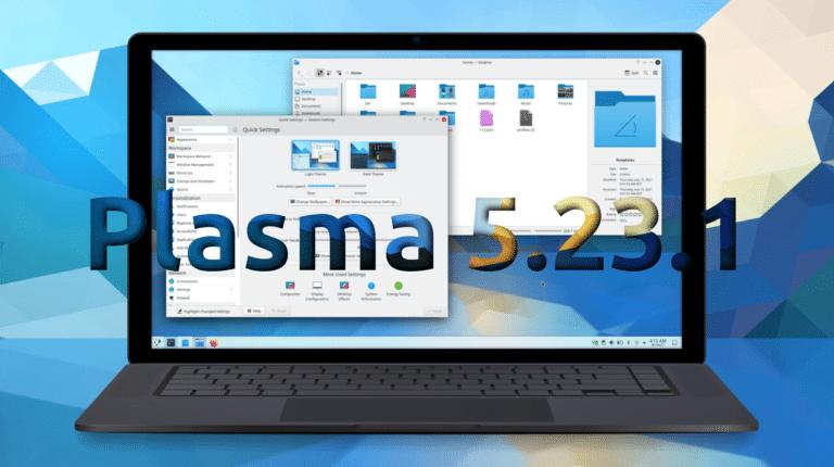 Plasma 5.23.1