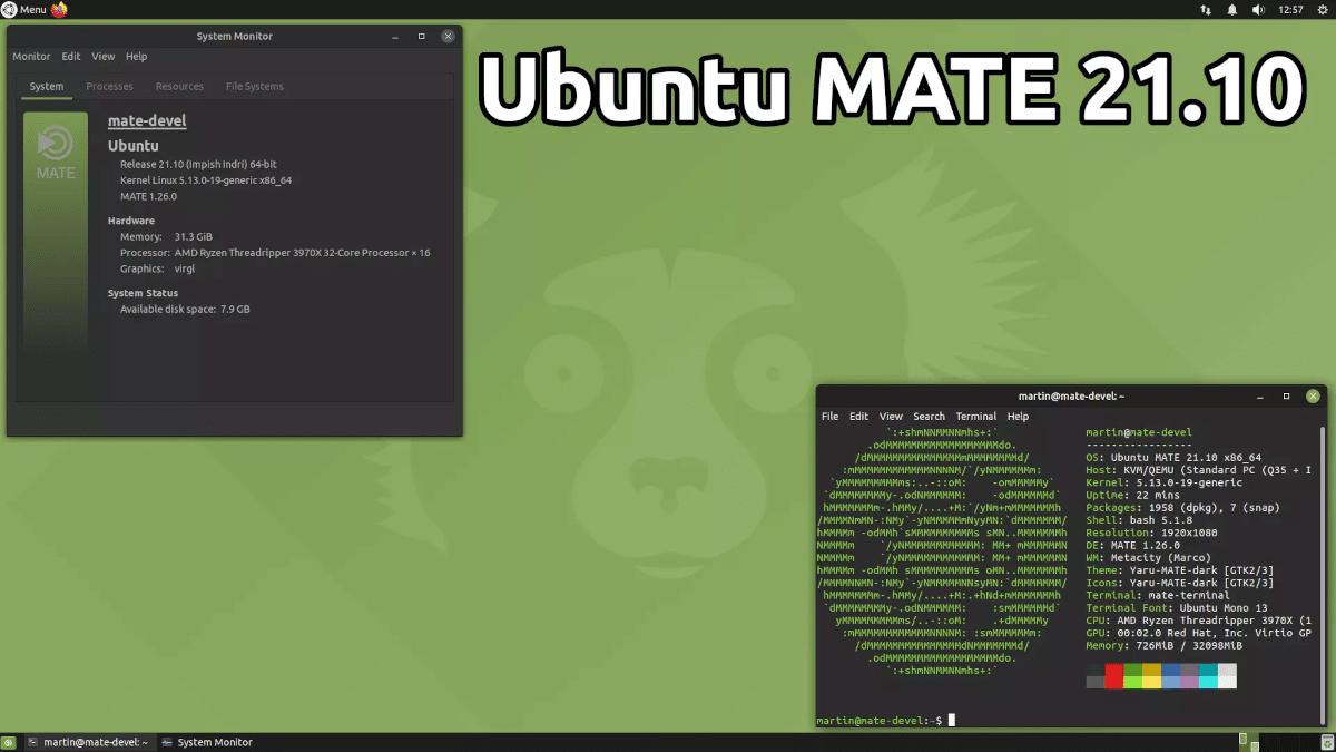 Ubuntu Mate 21.10