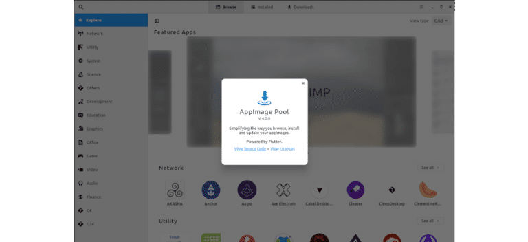 about appimage pool