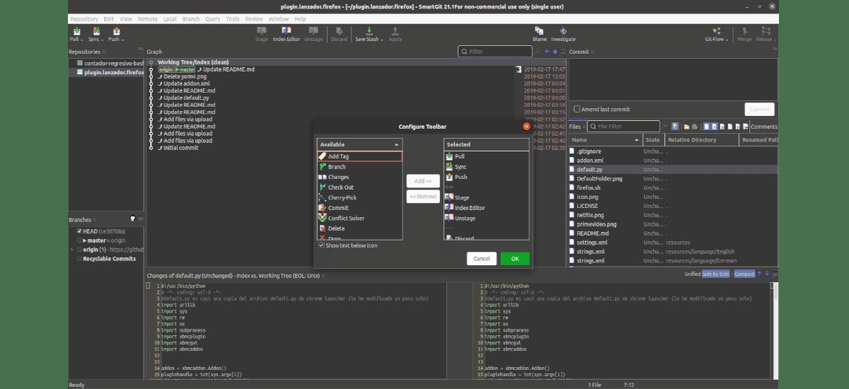 configurar toolbar